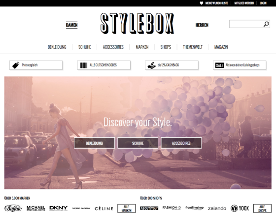 Stylebox_Homepage
